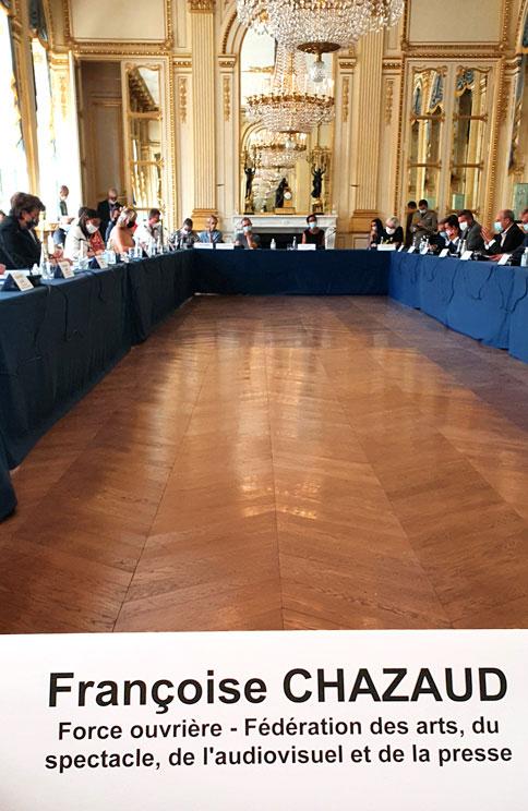Conseil National des Professions du Spectacle (Août 2020)
