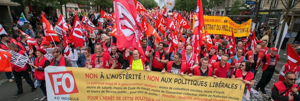 manifestation contre loi travail juin 2016