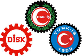 Syndicats Turcs DISK HAK-IS TRK-IS